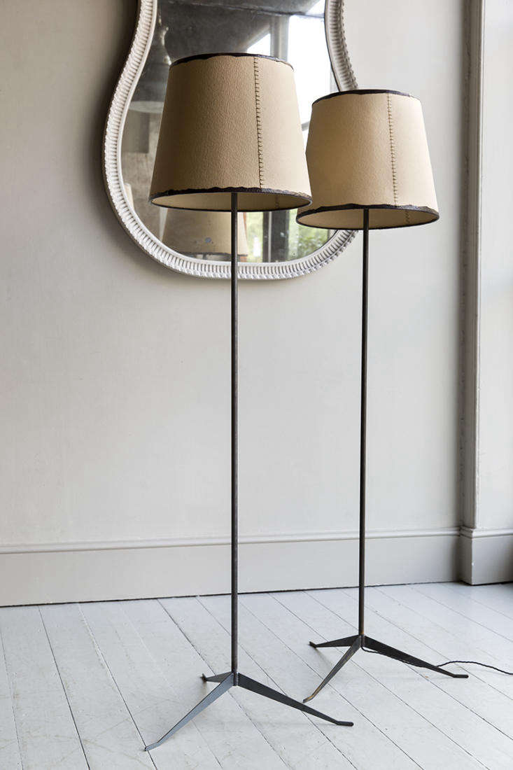 Made by Christopher Howe, the Howe Standard Lamp is handmade in England from raw or blackened steel. Contact Howe for price and ordering information.
