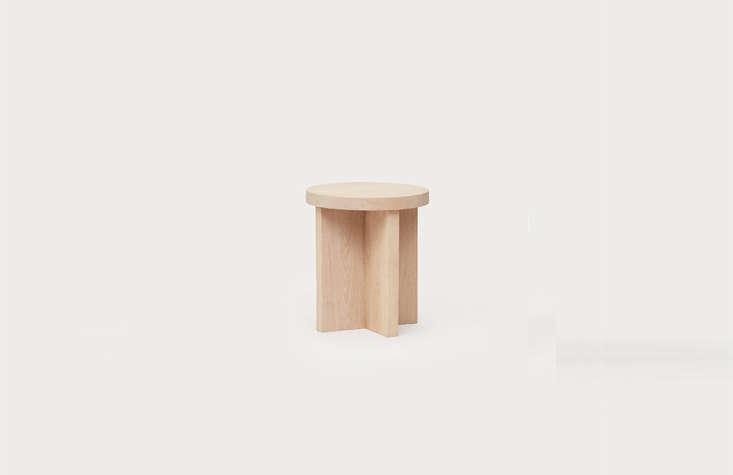 the sturdyjenni kayne oak side table (\$\1,\295) has &#8\2\20;an intentio 11