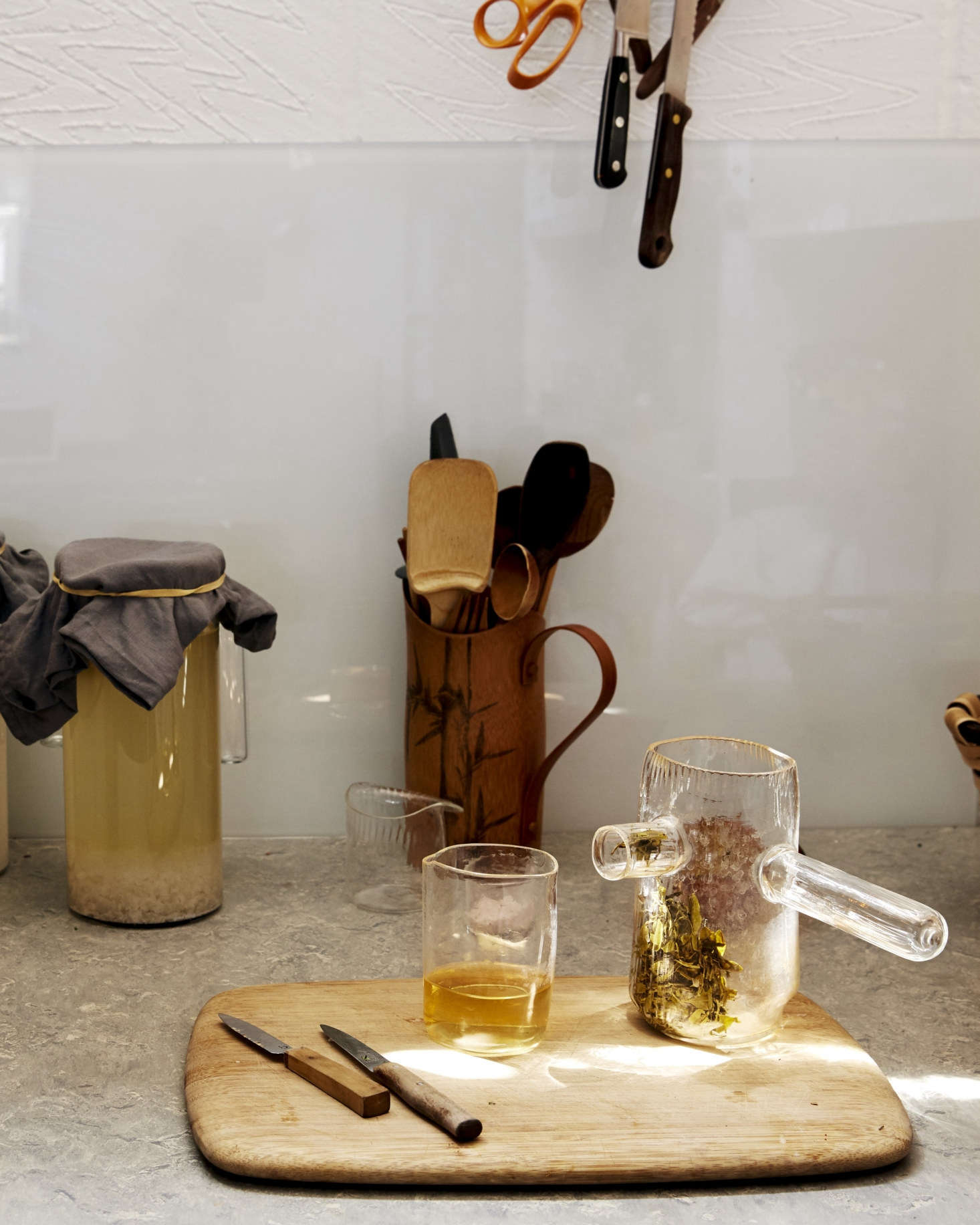 Detail in Jochen Holz Studio Kitchen, Photo by Kim Lightbody