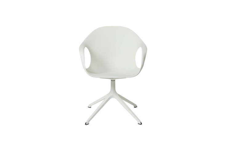 the kristalia elephant chair in white by neuland industriedesign is \$540 at co 17