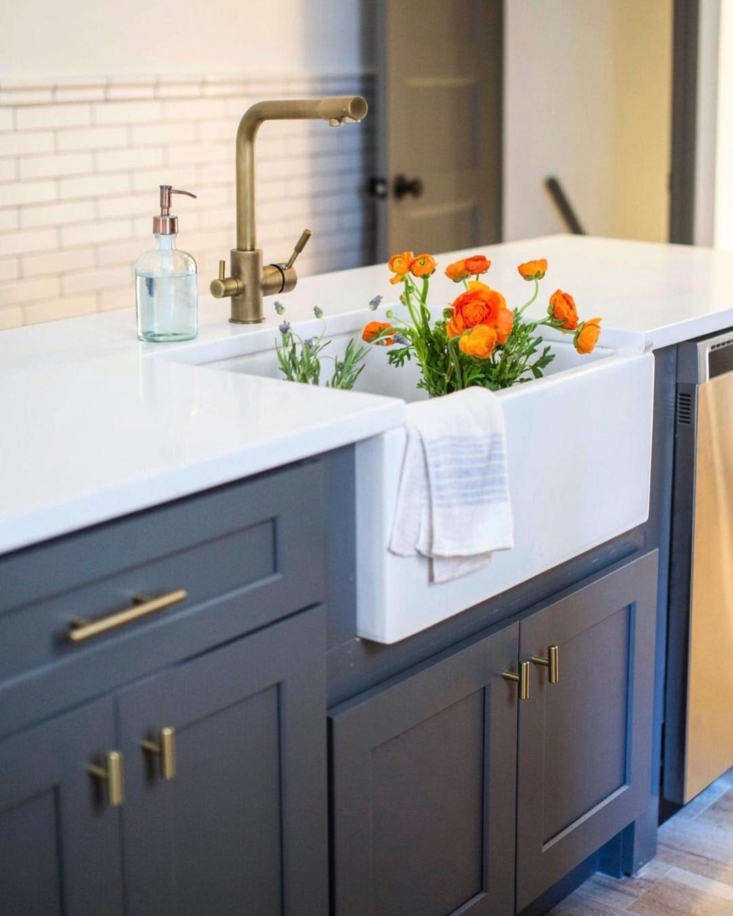 lacey and audrey paired afireclay farmhouse sink, \$449.99, and stev antique  15