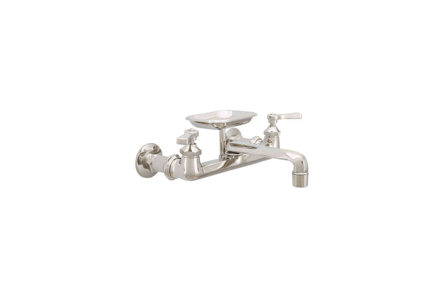 10 Easy Pieces Wall Mounted Kitchen Faucets With Soap Dishes Remodelista