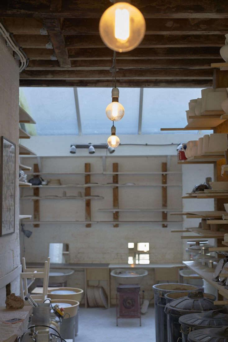 naomi&#8\2\17;s east london studio. the majority of naomi's work is thr 9