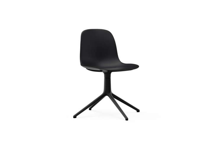 thenormann copenhagen form chair swivel chair, shown in black, is €335 at n 15