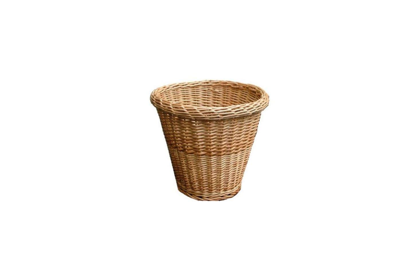 A simple Round Wicker Waste Paper Bin is £src=