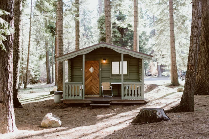 In addition to the lodge guest rooms and Deluxe cabins, there are eight smaller cabins. Photograph byNatalie Puls.