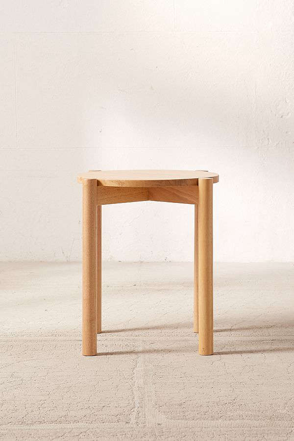 urban outfitters otto wood stacking stool