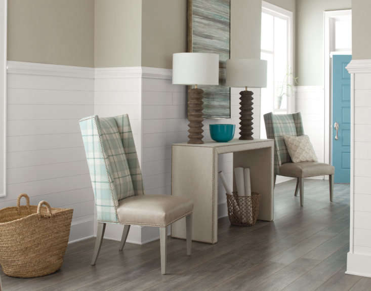 a staple of the ever popular modern farmhouse style, wood look planks can be ap 10