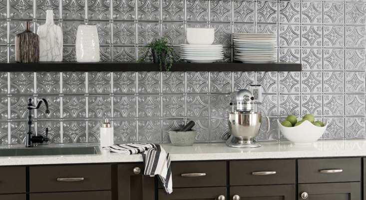 metallaire panels are also available pre cut as\18.5 by 48.5 inch backsplash  18