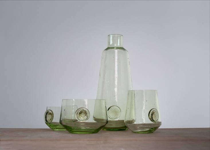 atelier an glassware green
