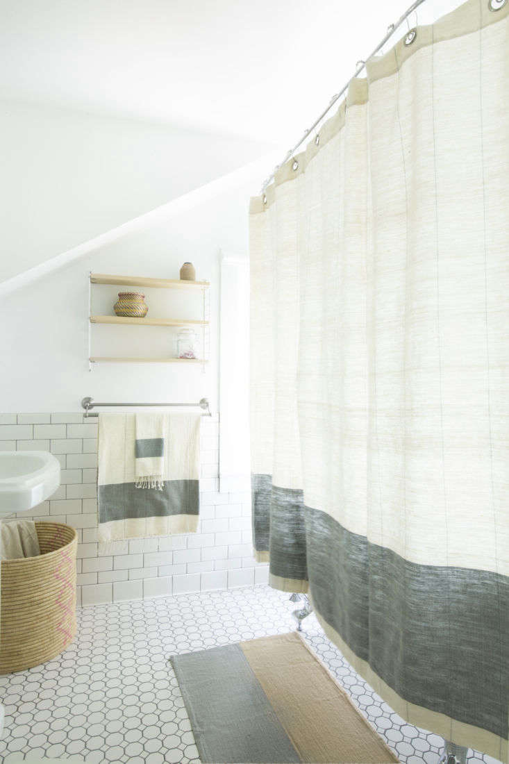 in a few weeks, hana will launch her first bath collection, shown here in the n 13
