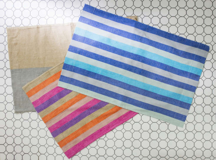 new bath mats in the same colorways as the omo valley collection. 14