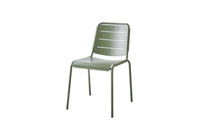 Inspired by the iconic Fermob chairs scattered in the Jardin du Luxembourg, Alexa rounds up  outdoor chairs in that pitch-perfect shade of sage green in Easy Pieces: Sage Green Outdoor Chairs for the Parisian Garden.