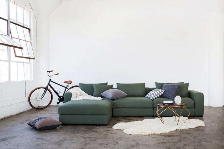 from californian direct to consumer company capsule, the remissa sectional sofa 12