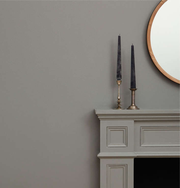 Clare also offers semi-gloss trim paint, like this one in Shade.
