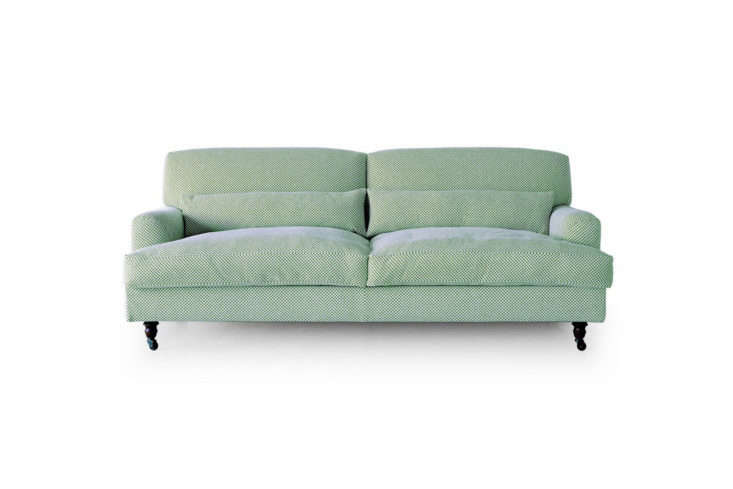 Designed by Vico Magistretti for De Padova in 88, the English-style Raffles Sofa has goose-down cushions and comes in a range of Italian upholstery fabric options. Available for £5,359 at Skandium or by contacting De Padova.
