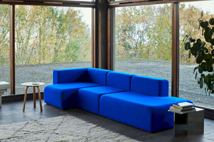 the hay mags 3 seater combination sofa is made of solid high density foam and d 14