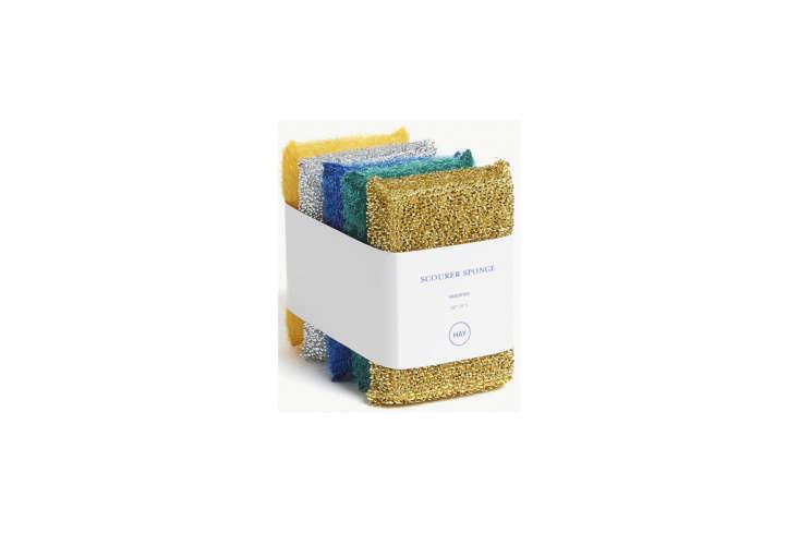 Hay makes Metallic Scourer Sponges in range of tones exclusively for Selfridges; £8 for a set of five.