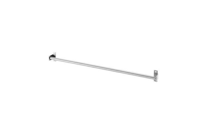 ikea&#8\2\17;s \2\2 inch kungsfors rail is \$3.99. 19