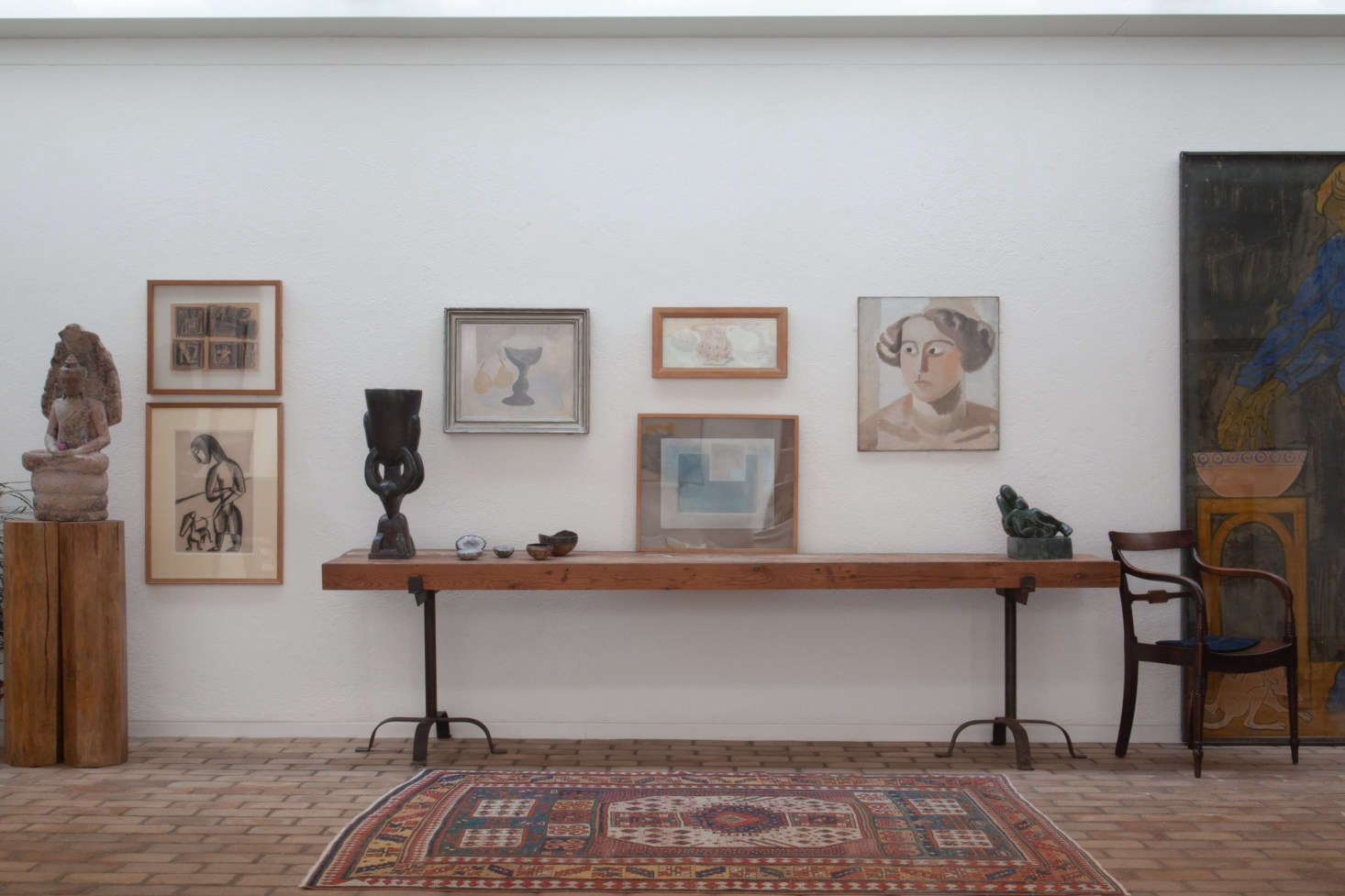 The artworks above include Ben Nicholson&#8