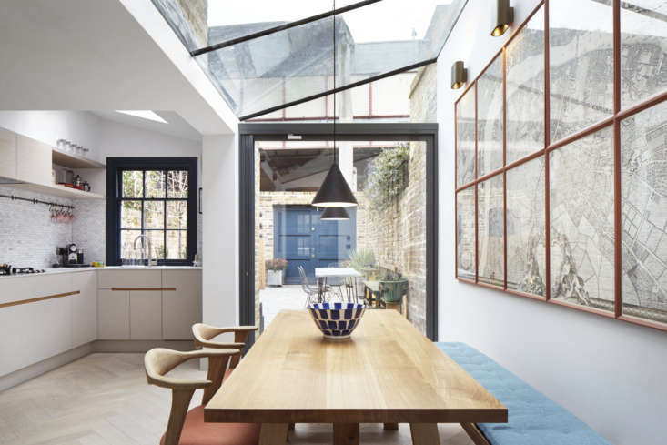 a glazed infill extension allowed for a bright, eat in kitchen overlooking a co 13