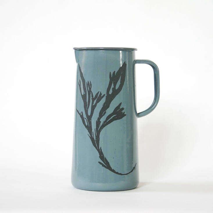 molesworth and bird enamel jug