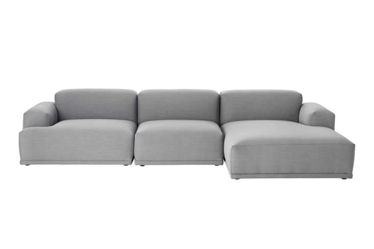 designed by anderssen + voll for muuto, the connect modular sofa is made up of  10