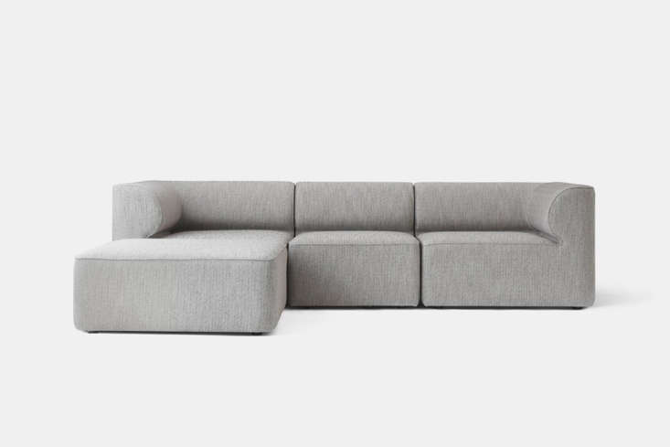 designed by norm architects for menu, the eave modular sofa is inspired by arch 13