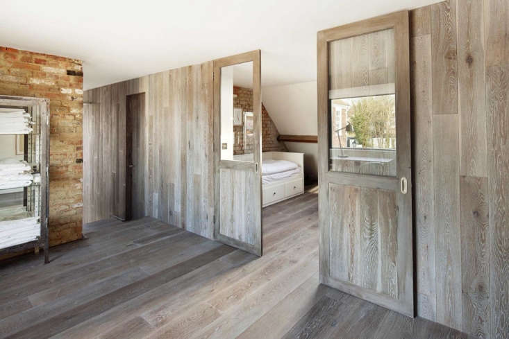 Into a twin bedroom.