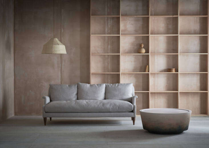 The Pinch Design Angelo 3-Seat Sofa is designers Russell Pinch and Oona Bannon&#8
