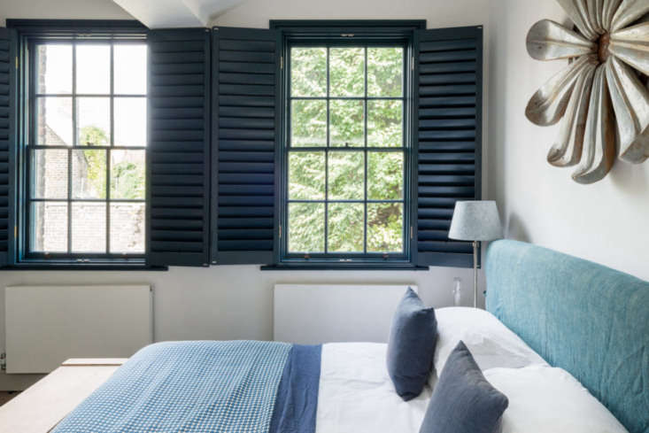 the two bedrooms on the second floor have interior venetian shutters. 17