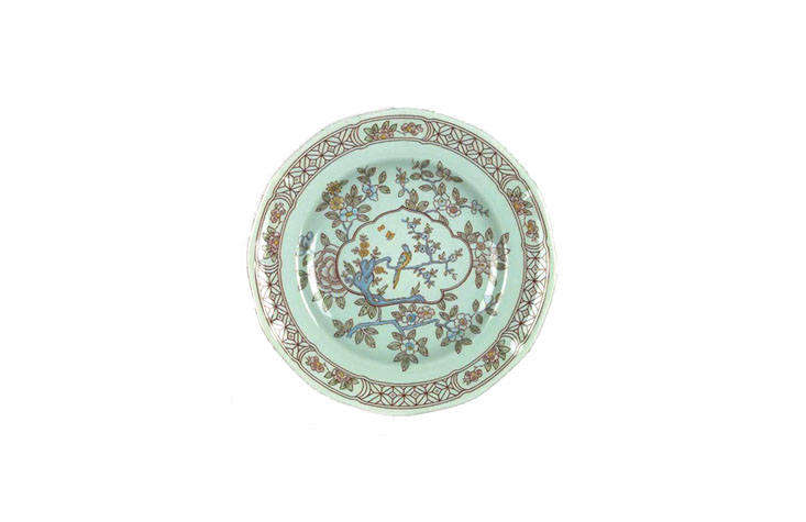 a singapore bird dinner plate, currently for sale via replacements . 10