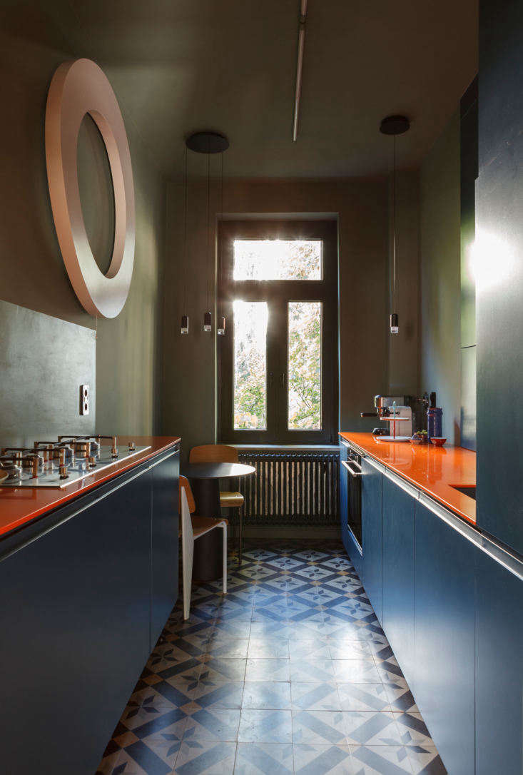 the cement tiles (via 5\1\109) were already set by the client when studio oink  9