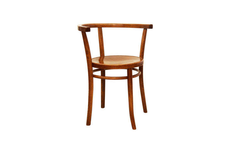 A vintage Bentwood Armchair by Michael Thonet can be sourced on loading=