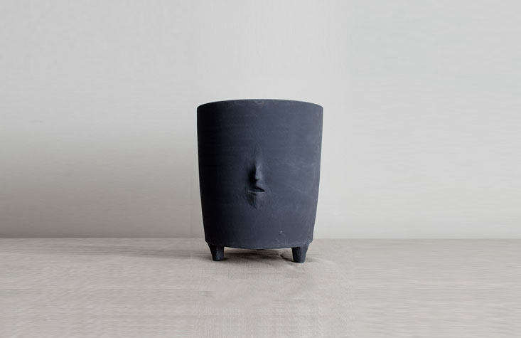 the vessel head0\2with a barely there face, one of a collection by danish a 16