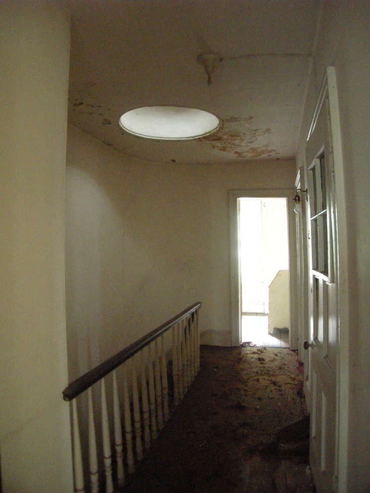 the top floor hall with skylight and banister that&#8\2\17;s still in use. 37