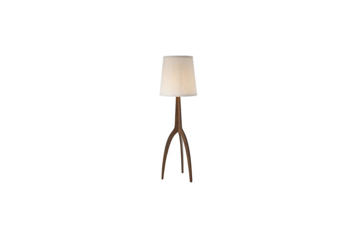 arteriors&#8\2\17; linden floor lamp has a similar look to the three legged 16