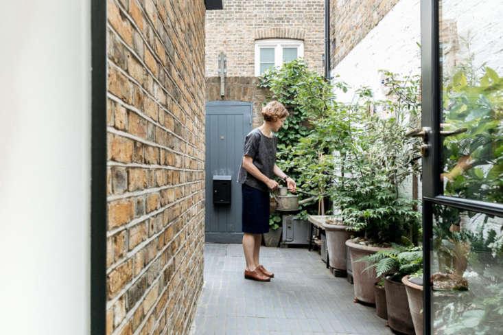 Eleanor in her garden: &#8
