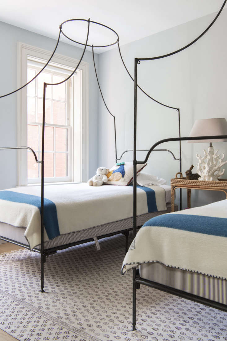 campaign canopy beds from anthropology (since discontinued) came out of storage 34