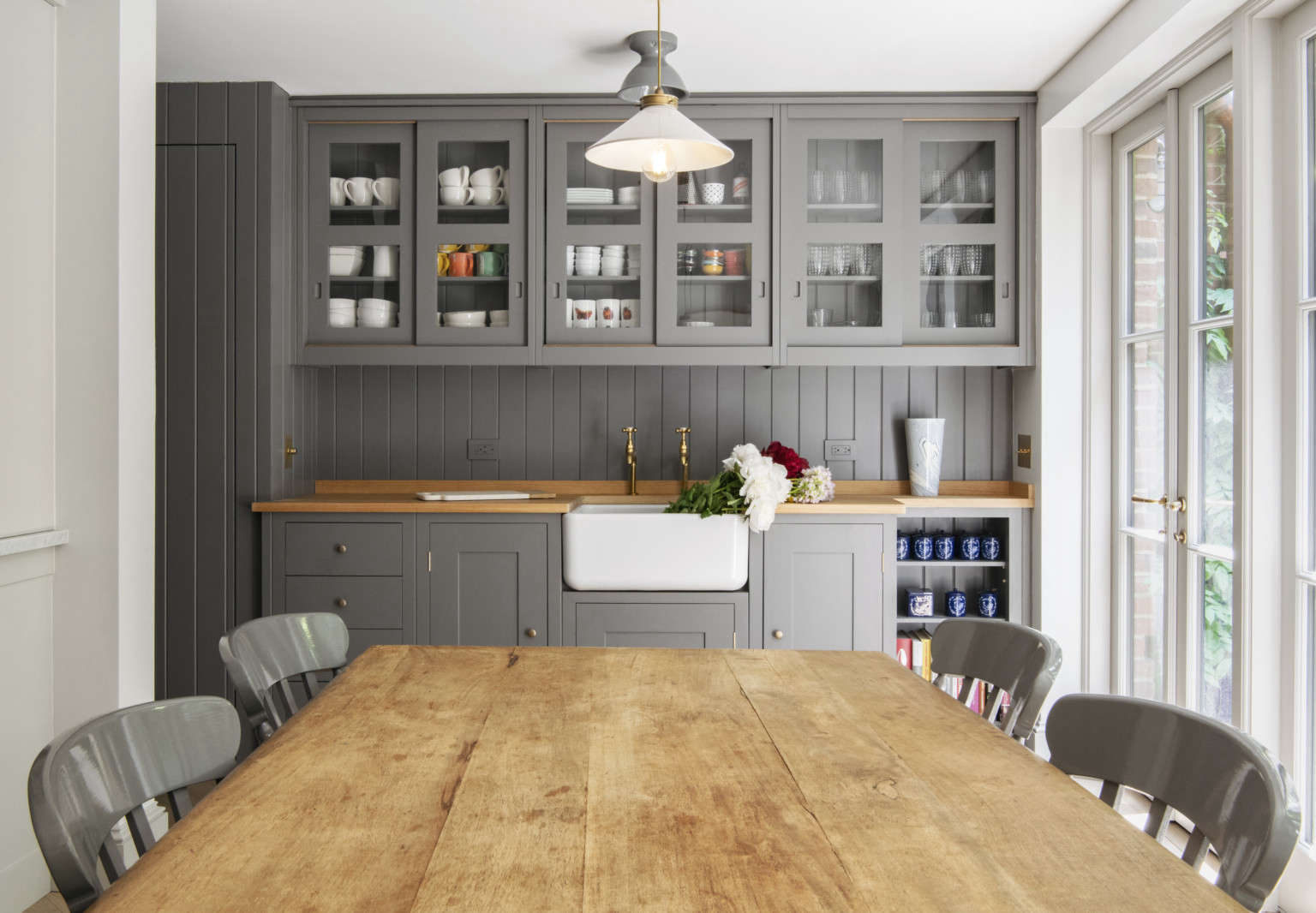 Plain English Kitchen In Brooklyn An Old Style Townhouse Gut Remodel By Elizabeth Roberts Architects