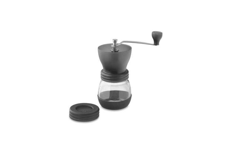 for coffee aficionados, the only way to grind fresh coffee beans is by hand. a  21