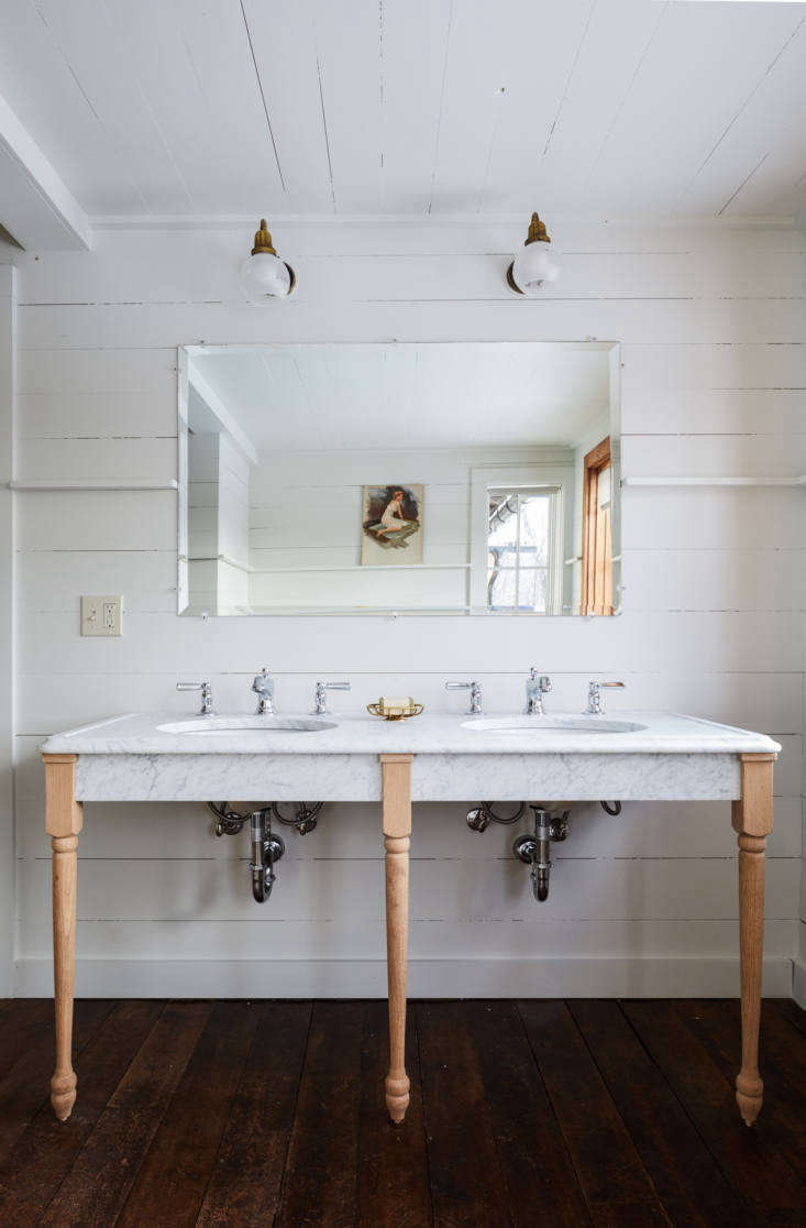 Hayfield Catskill Jersey Ice Cream Co Bridal Suite Sink