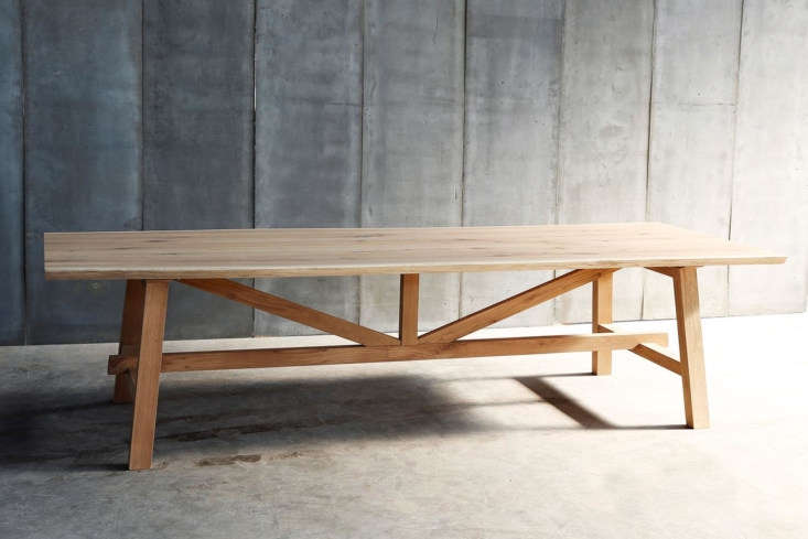 The Heerenhuis Larbus Solid Oak Table is available through Heerenhuis Manufactuur. Contact for price and ordering information.
