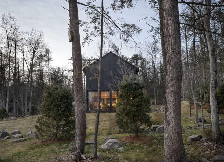 the house, painted in black benjamin moore arborcoat semi transparentstain, 20