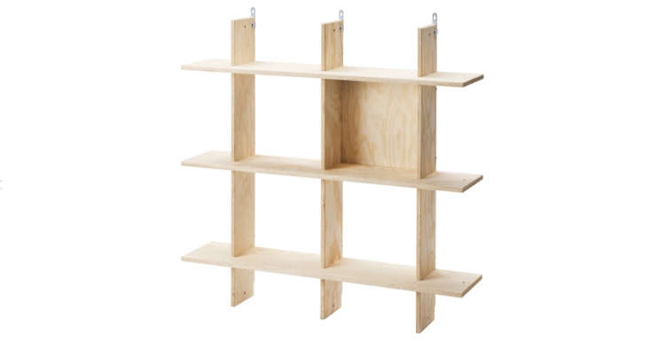 The wall-mountable Industrielle shelf is $loading=