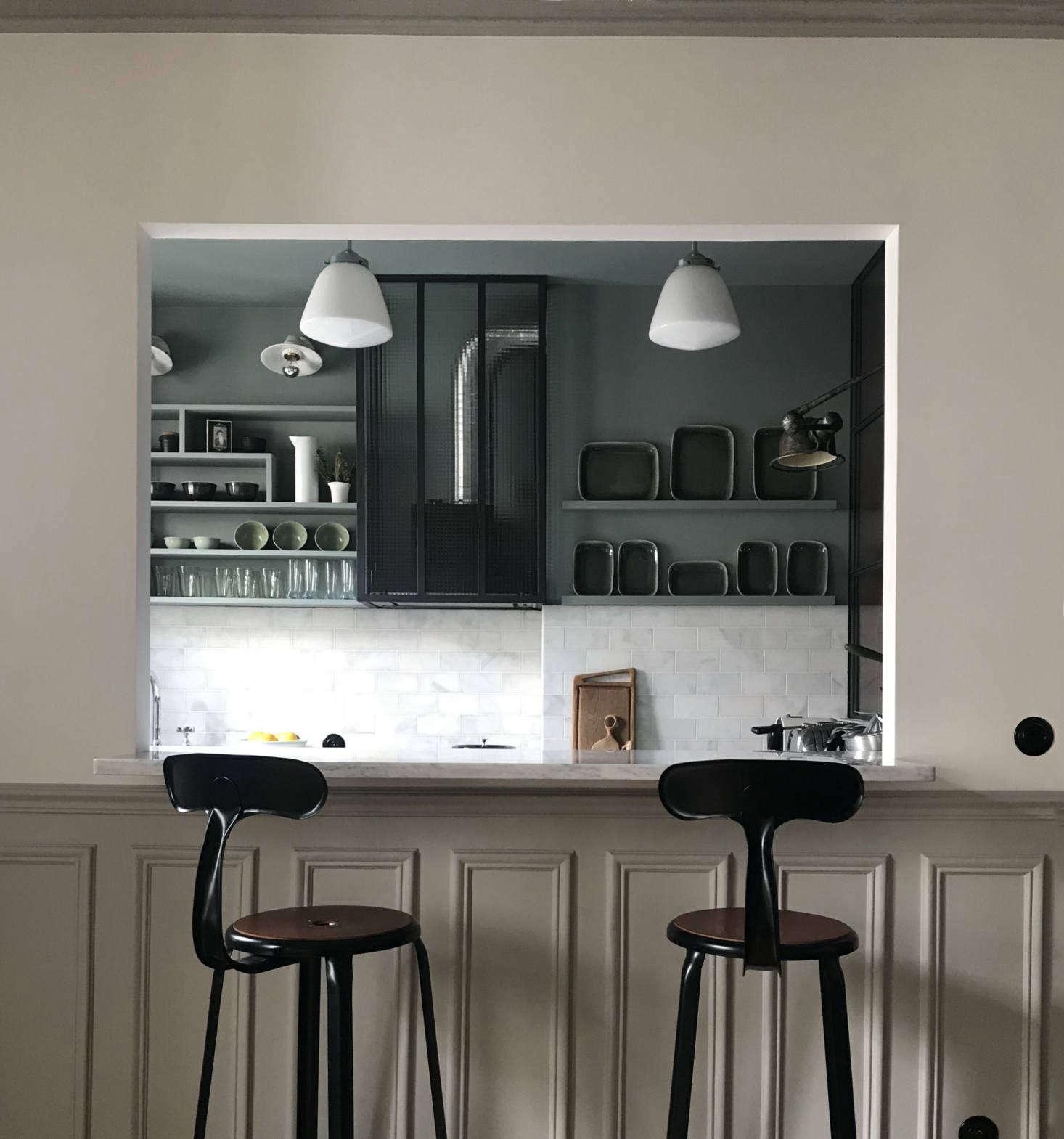 Interior Designer Marianne Evennou S Paris Office Doubles As Her Pied A Terre