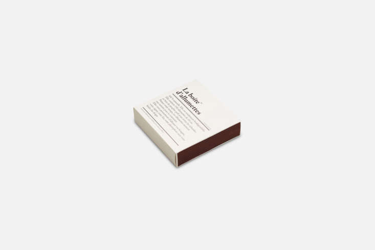 from one of our favorite paris destinations, merci, the box of \150 matches are 20
