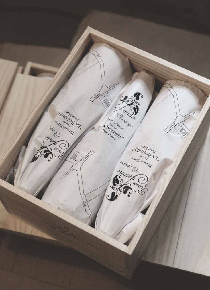 roses de heanne champagne packaging vipp kitchen