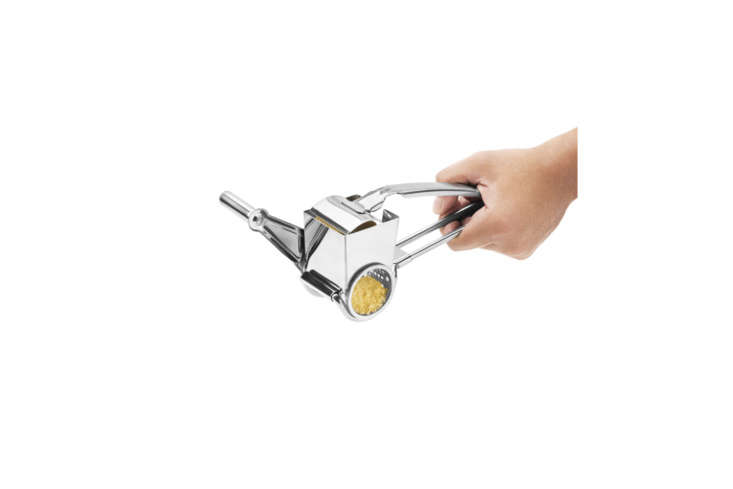 another pick from julie, the stainless steel rotary cheese grater that, in addi 14