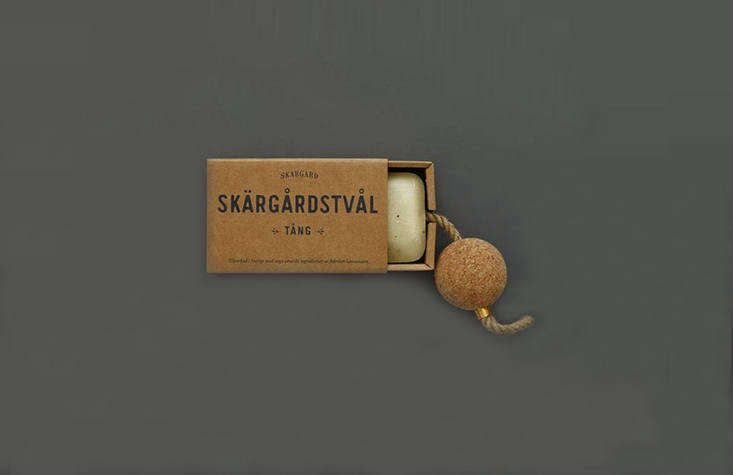Handmade in Sweden,Seaweed Soap on a Rope is perfect for anyone with a boat or beach cottage. It even features a handy cork to make sure it floats; £.